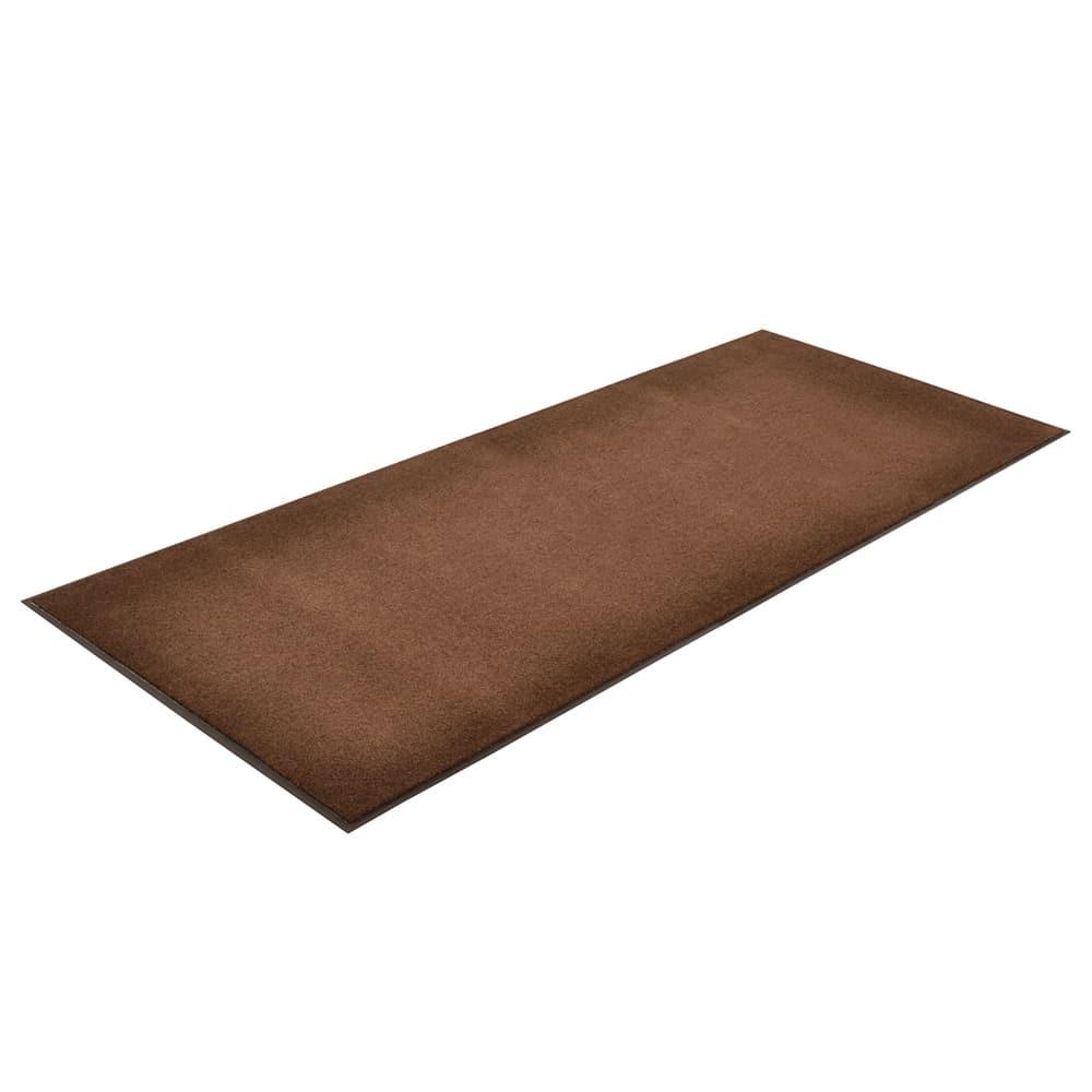 Notrax T37R0048BR Olefin Fiber Floor Mat, Stain & Slip Resistant, 4 x 60 ft, Dark Toast