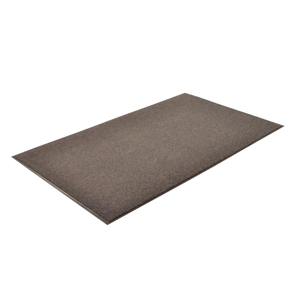 Notrax T37S0036CH Olefin Fiber Floor Mat, Stain & Slip Resistant, 3 x 6 ft, Gun Metal