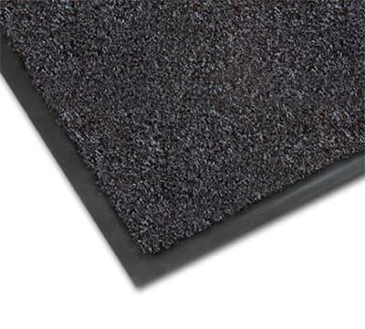 Notrax 0434-328 Olefin Fiber Floor Mat, Stain & Slip Resistant, 4 x 6-ft, Gun Metal