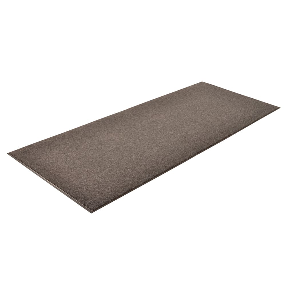 Notrax T37R0048CH Olefin Fiber Floor Mat, Stain & Slip Resistant, 4 x 60 ft, Gun Metal