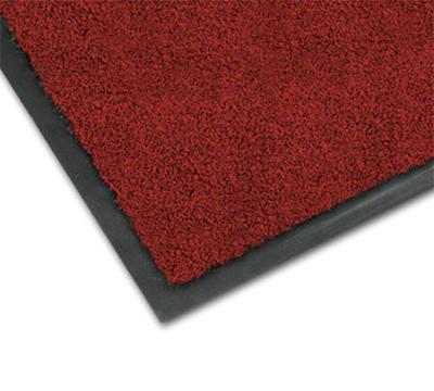 Notrax 0434-336 Olefin Fiber Floor Mat, Stain & Slip Resistant, 4 x 6-ft, Crimson
