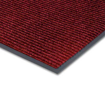 Notrax T39R0036RB Floor Mat, Polypropylene, Ribbed Vinyl Back, Fade-Resistant, 3 x 60-ft, Cardinal