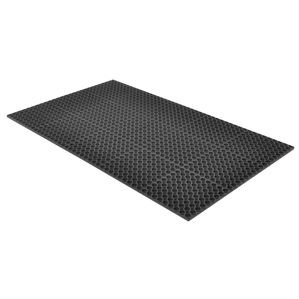 "Notrax T13U0035BL Tek-Tough Anti-Fatigue Floor Mat, General Purpose, 3 x 5 ft, 7/8"" Thick, Black"