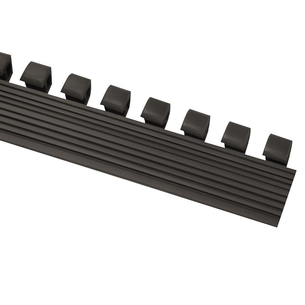 Notrax T13N0036BL Attachable Ramp, For Tek-Tough Floor Mat, 36 x 1 3/4 in, Black