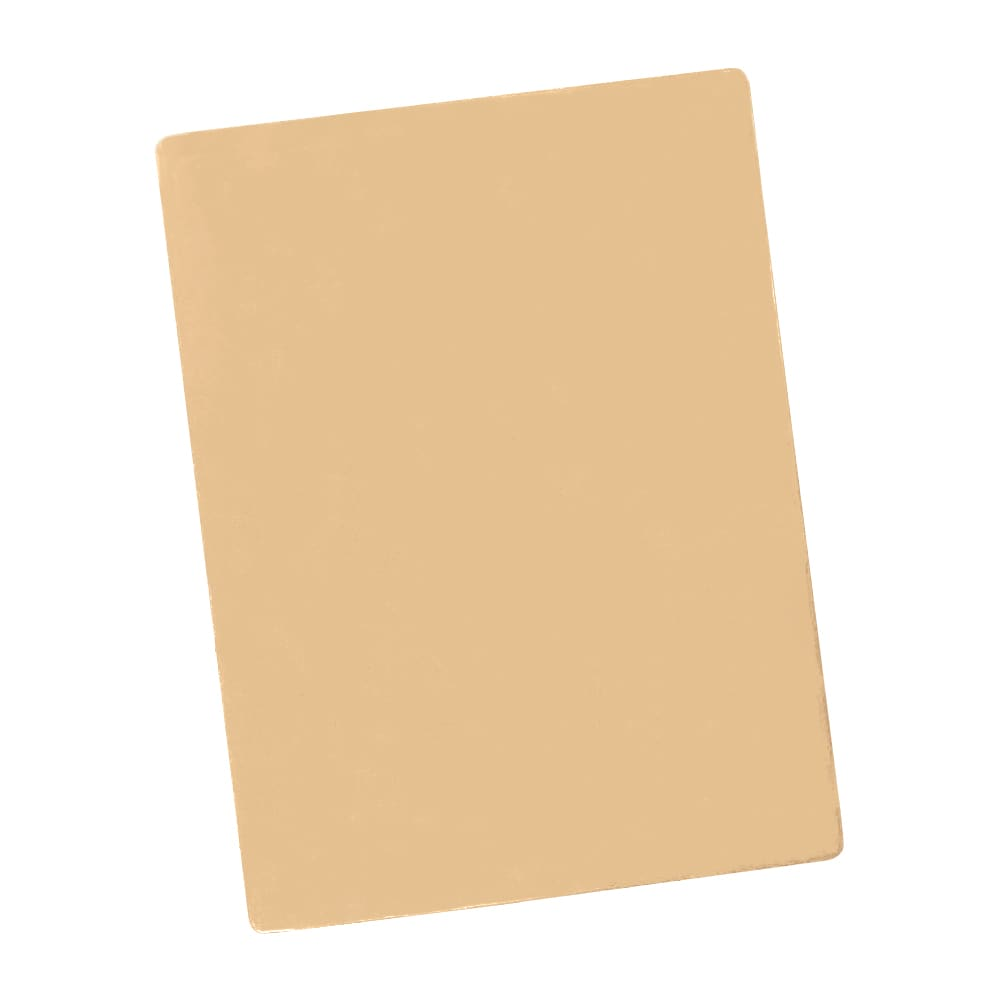 """Notrax T48S2015TN Color Coded Cutting Board, Wall Chart & Cutting Guide, 15"""" x 20"""", Tan"""