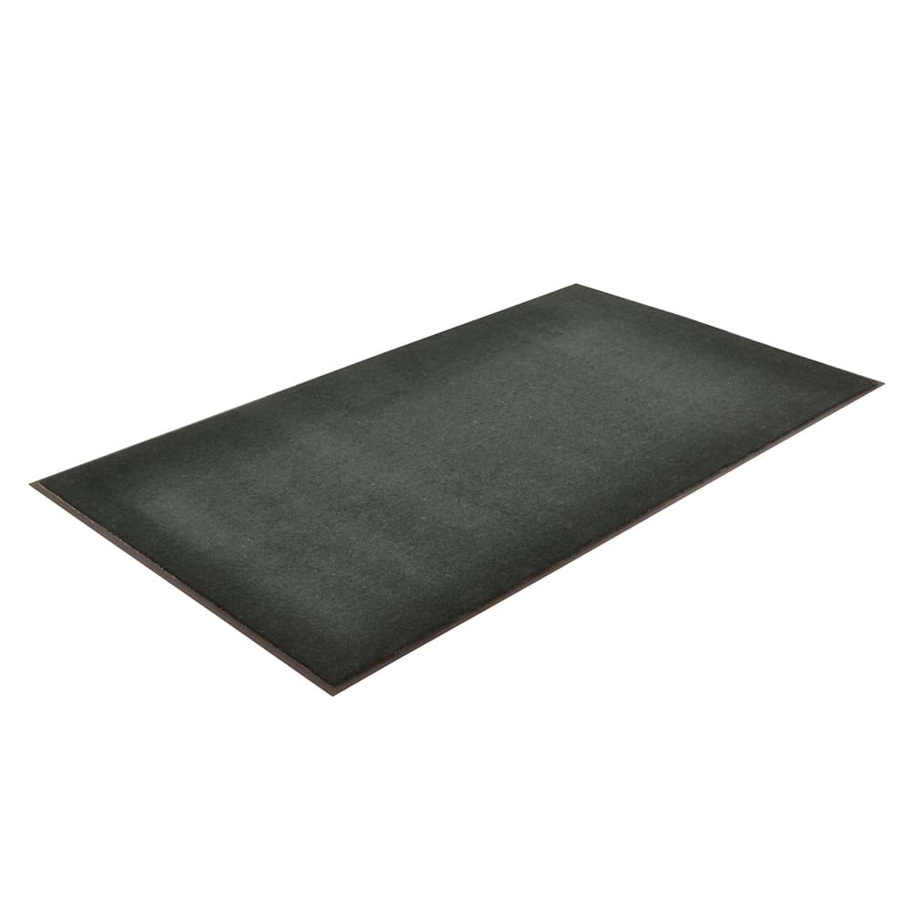 Notrax T37S0310GN Atlantic Olefin Floor Mat, Exceptional Water Absorbtion, 3 x 10 ft, Forest Green
