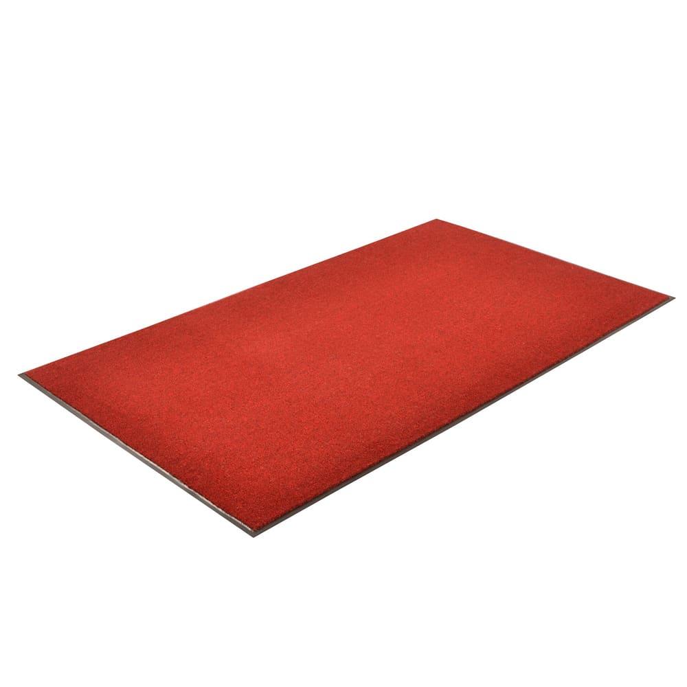 Notrax T37S0410RB Atlantic Olefin Floor Mat, Exceptional Water Absorbtion, 4 x 10 ft, Crimson