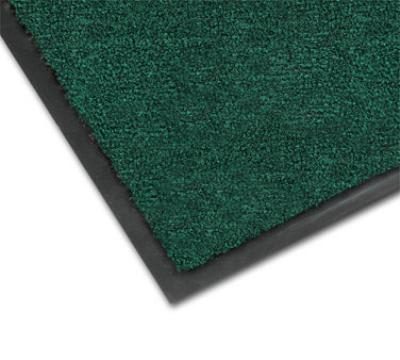 Notrax 4468-180 Atlantic Olefin Floor Mat, Exceptional Water Absorbtion, 4 x 10 ft, Forest Green