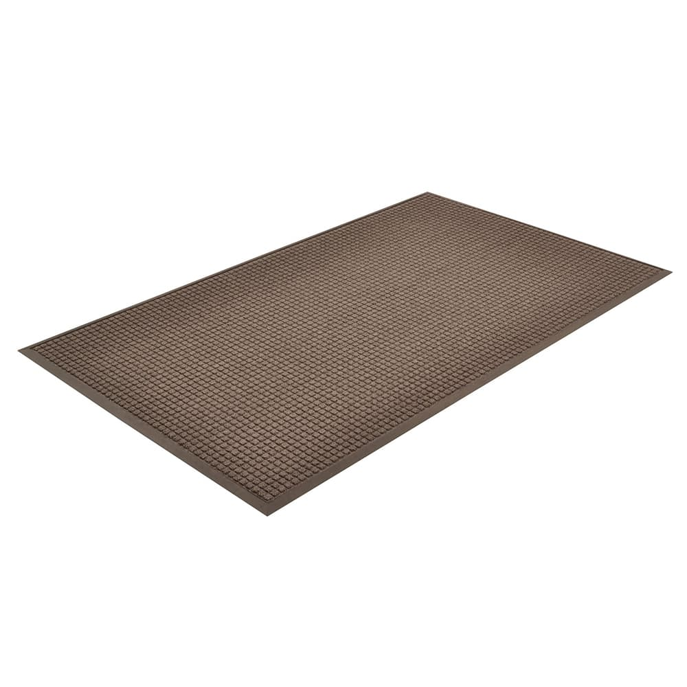 Notrax T35S0046CH Water Master Carpet, 4 x 6 ft, Rubber Base, Stain / Fade Resistant, Charcoal