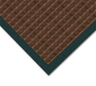 Notrax 4468436 Water Master Carpet, 3 x 5 ft, Rubber Base, Stain / Fade Resistant, Dark Brown