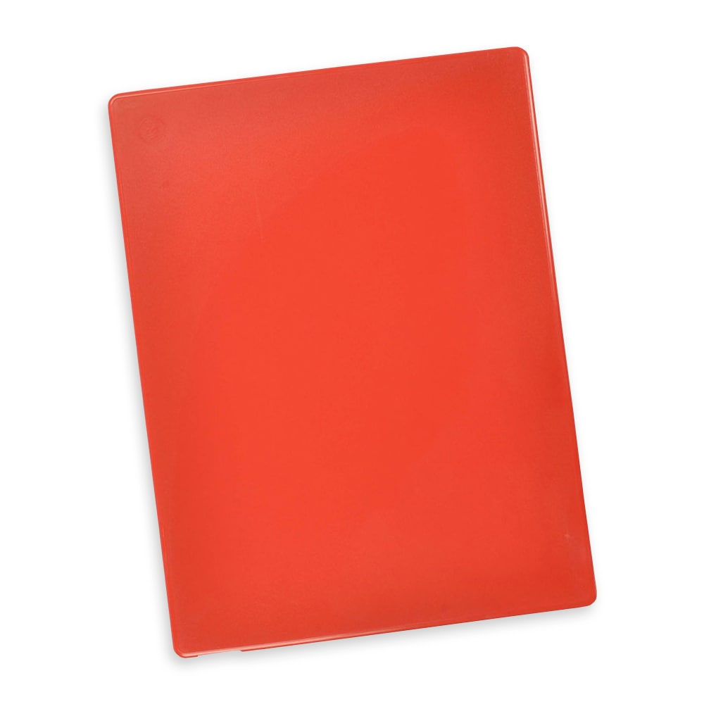 "Notrax T48S2012RD Color Coded Cutting Board, Wall Chart & Cutting Guide, 12"" x 18"", Red"