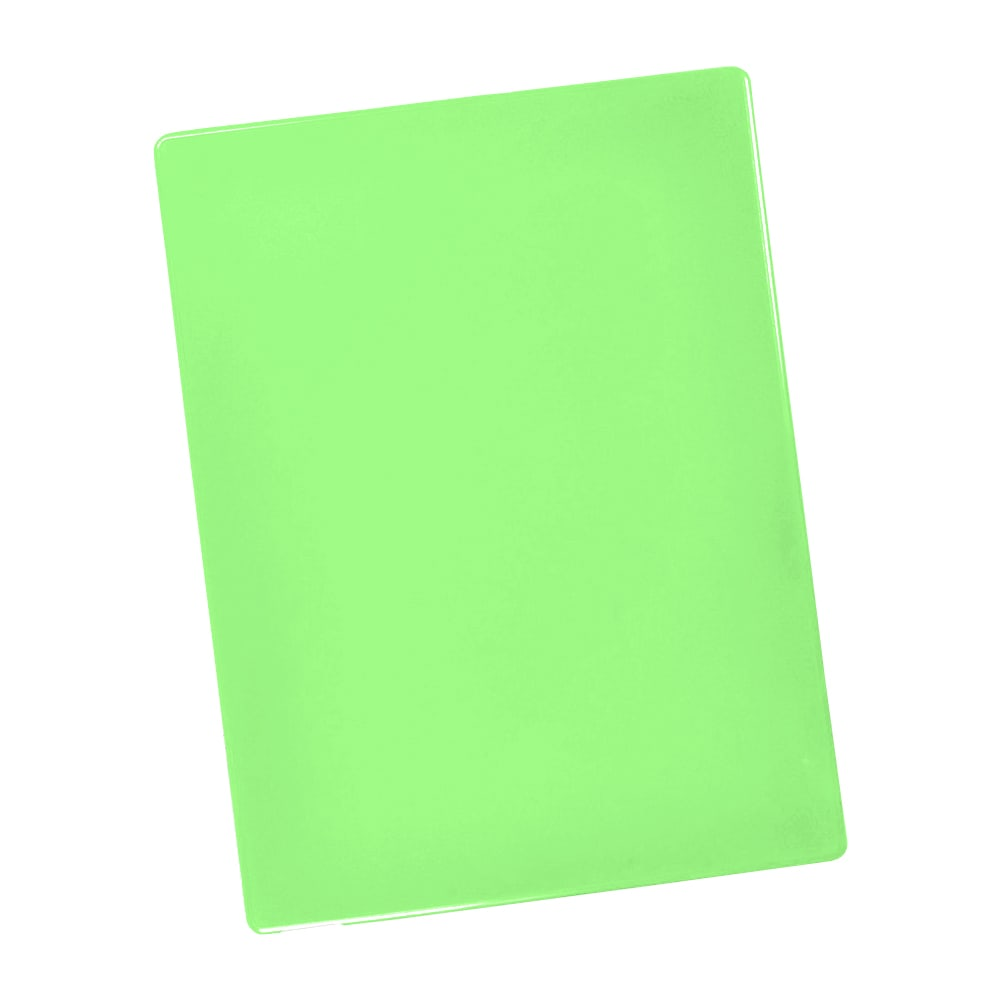 "Notrax T48S2012GN Color Coded Cutting Board, Wall Chart & Cutting Guide, 12"" x 18"", Green"
