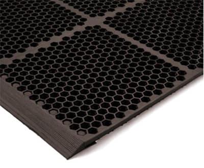 Notrax T15KA012BR Floor Mat Connector - Brown