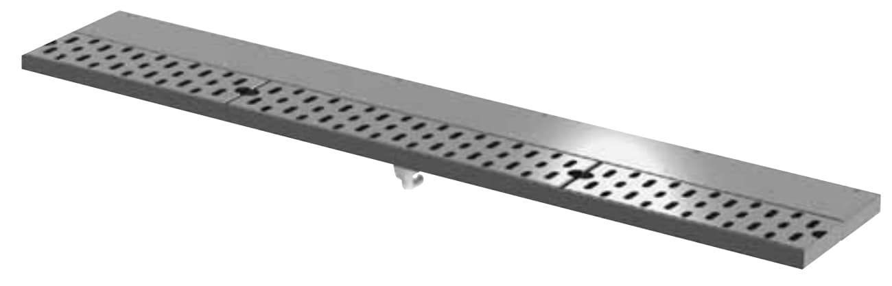 """Perlick DRD24 24"""" Drink Rail Drainer"""