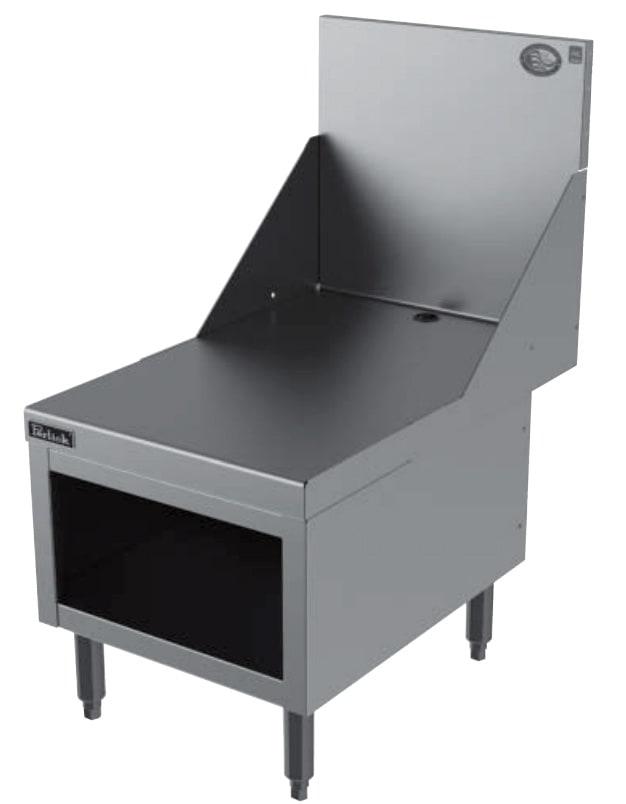 Perlick ES18 Blender Equipment Stand w/ Flat WorkTop, 18 x 26.75-in