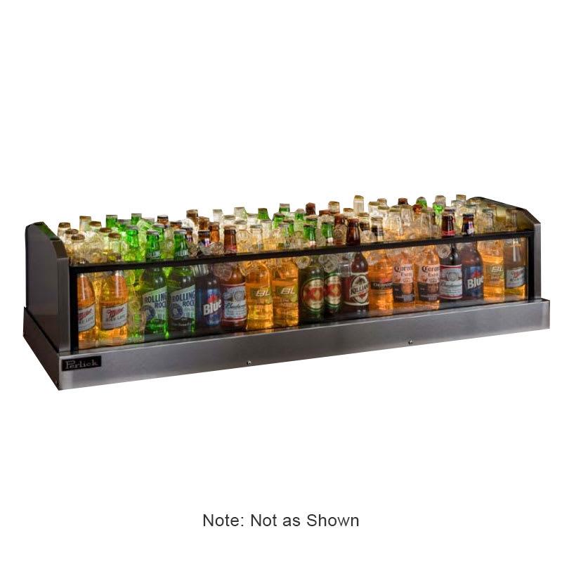 Perlick GMDS14X72 72-in Glass Merchandiser Display w/ 104-Bottle Capacity
