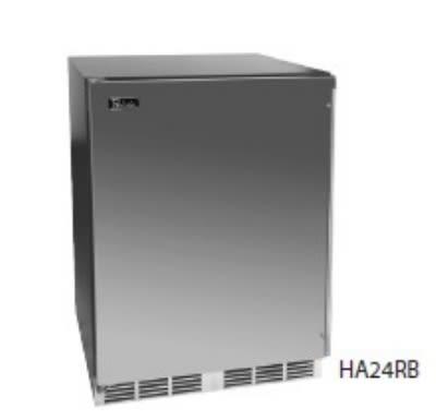 Perlick HA24BB-1L 4.3-cu ft Undercounter Refrigerator w/ (1) Section & (1) Door, 115v
