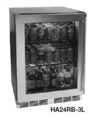 Perlick HA24RB-4L 4.3-cu ft Undercounter Refrigerator w/ (1) Section & (1) Door, 115v