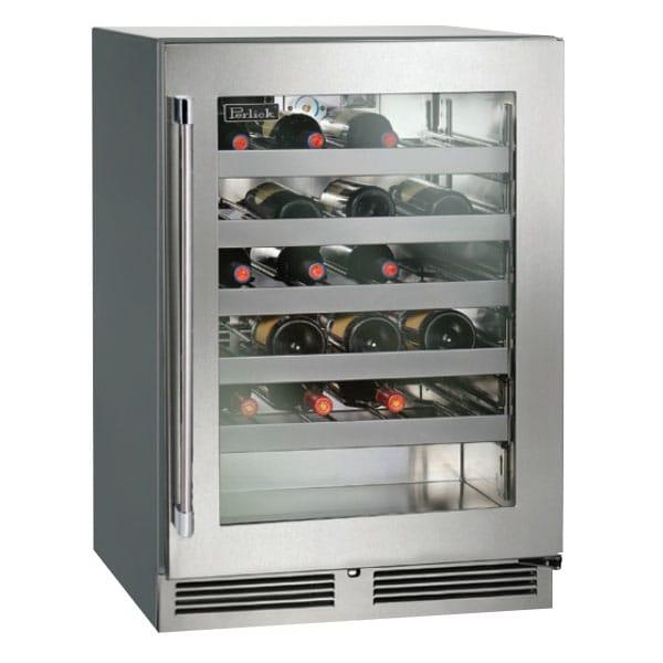 Perlick HC24WS 5.3-cu ft Undercounter Refrigerator w/ (1) Section & (1) Door, 115v