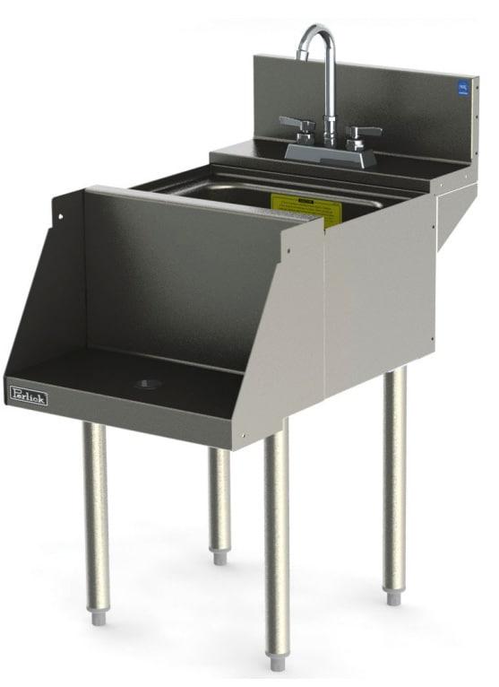 Perlick TS18BLW 18-in Blender Station w/ Dump Sink, Stainless