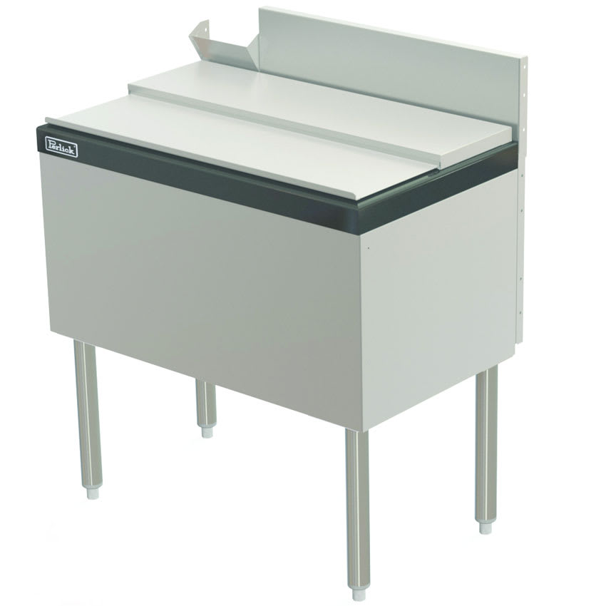 "Perlick TS30IC10-STK 30"" Under Bar Ice Bin w/ 70 lb Capacity - Stainless"
