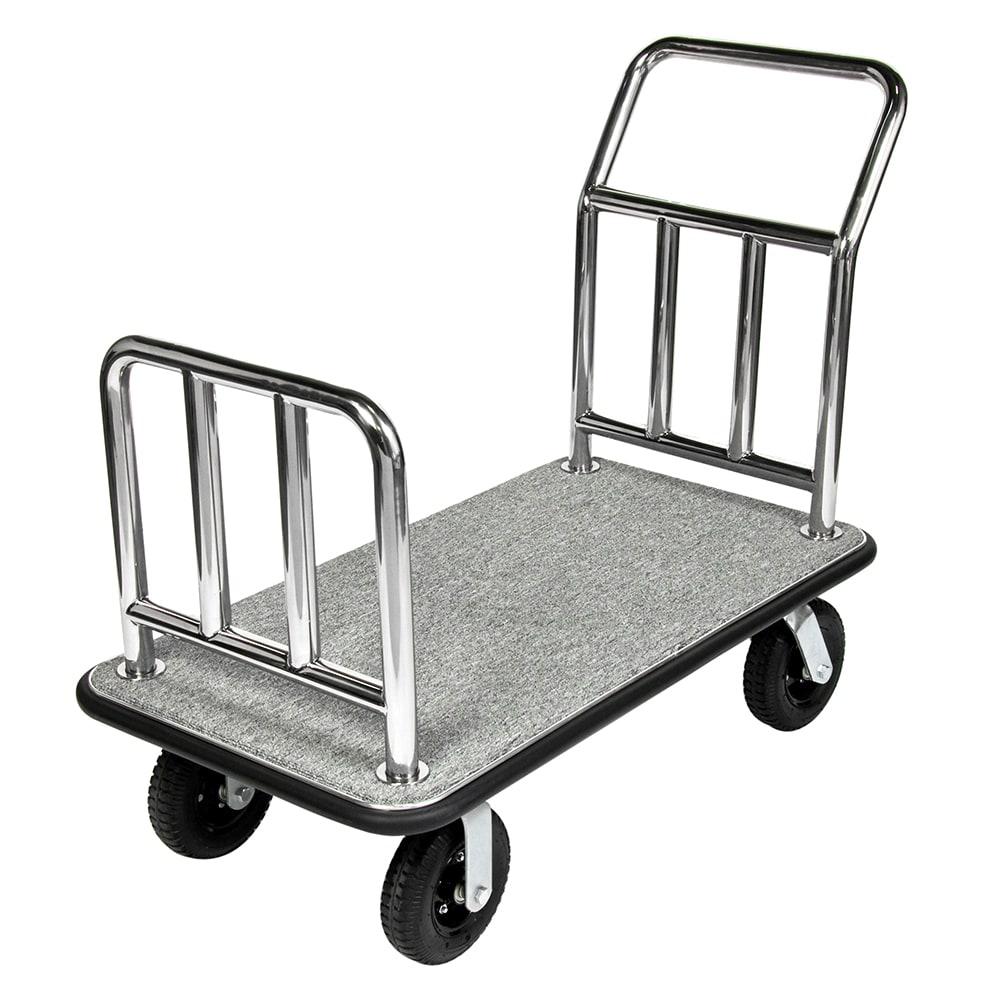"""CSL 2111GY-010 Platform Cart w/ Gray Carpet - 46""""L x 26""""W"""