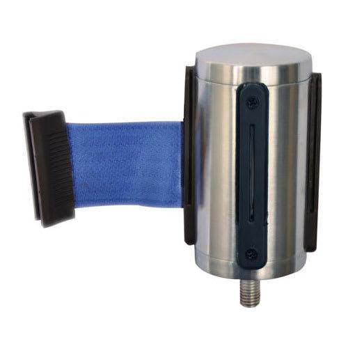 CSL 5521-BLU Belt Head w/ 9.5 ft Blue Belt, Brushed Stainless