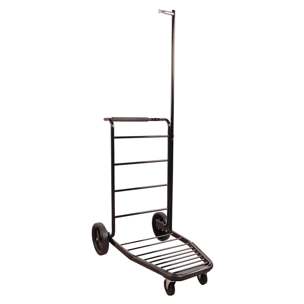 CSL 8300-LAB Hotel Luggage Cart Truck w/ Black Frame, Steel