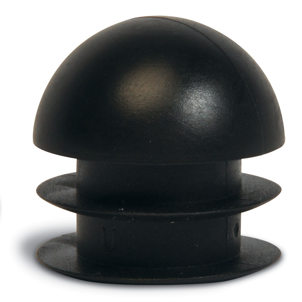 "CSL P135-4 1"" Replacement Round Foot Plug, Black"