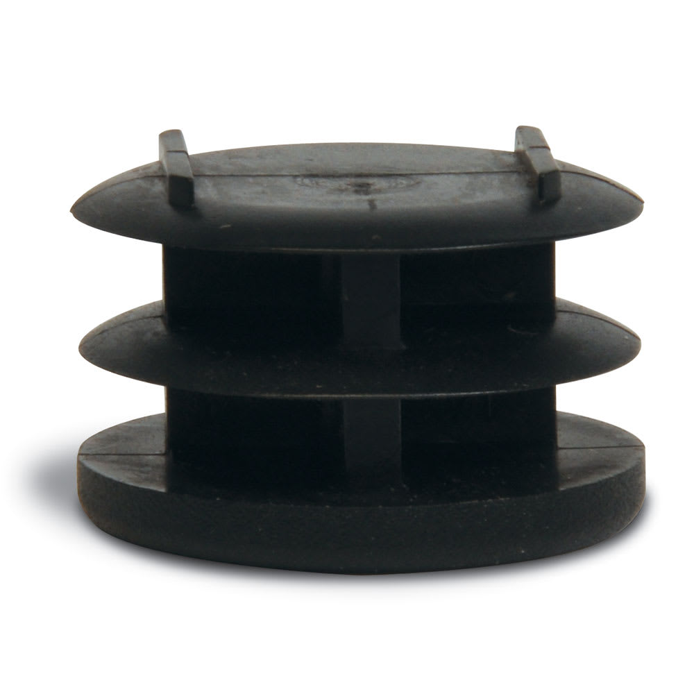 "CSL P136-4 1"" Replacement Flat End Plug, Black"