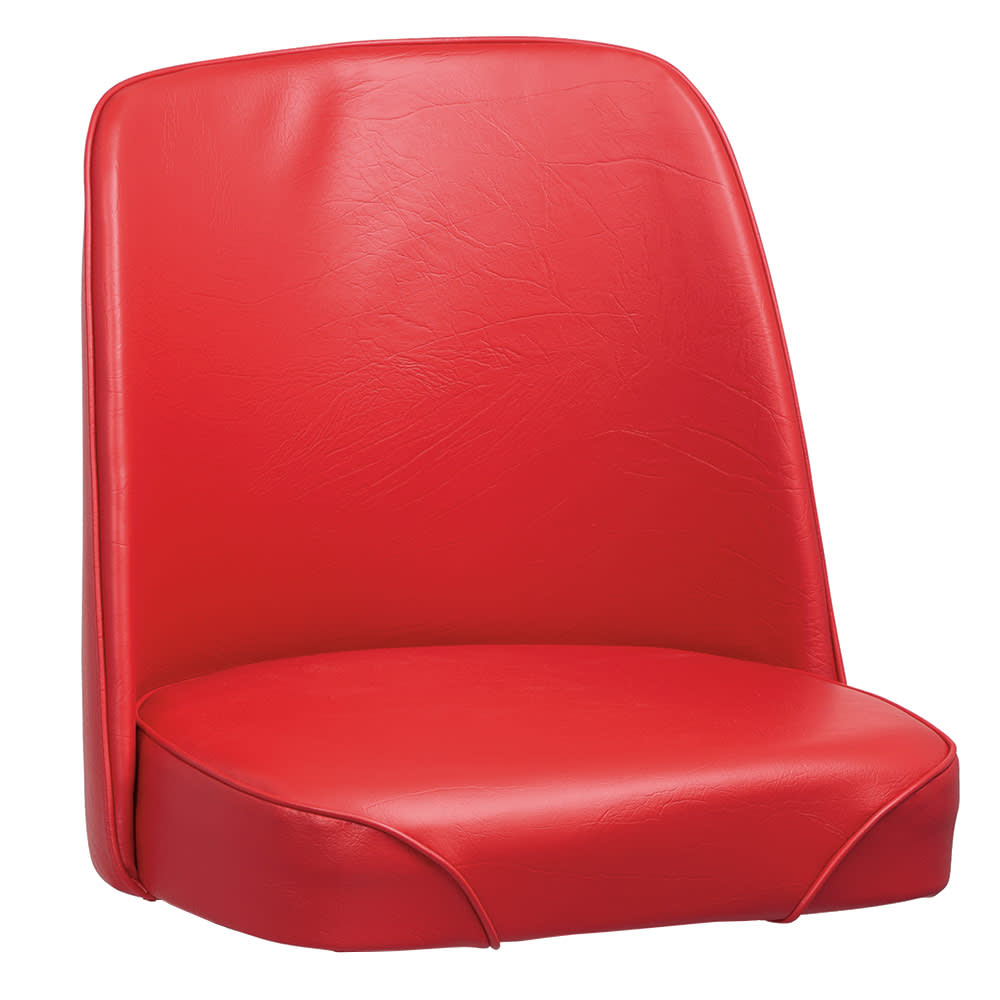 Royal Industries ROY 7714 SR Replacement Bucket Bar Stool Seat, Red