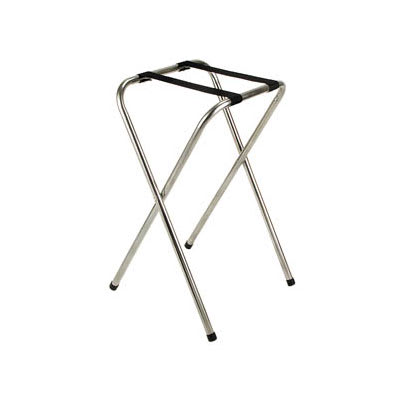 "Royal Industries ROY 774 32"" Standard Chrome Tray Stand"