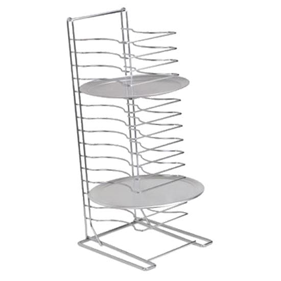 """Royal Industries ROYPTS15HD 15 Shelf Pizza Pan Rack for 10"""" to 17"""" Round Pans, Chrome-Plated Steel"""