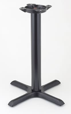 "Royal Industries ROY RTB 2222 25"" Stand Up Table Base w/ 22 x 22"" Base & 10"" Spider"