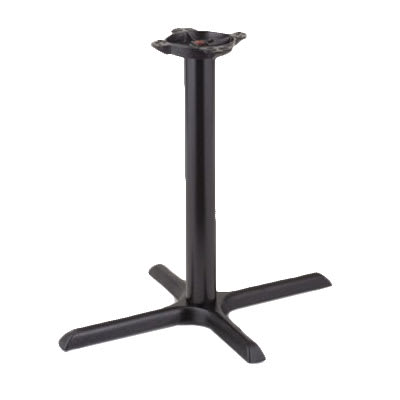 "Royal Industries ROY RTB 2230 25"" Stand Up Table Base w/ 22 x 30"" Base & 10"" Spider"
