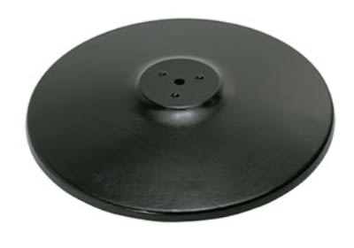 "Royal Industries ROY RTB 22 RB 22"" Round Powder Coated Cast Iron Table Base"