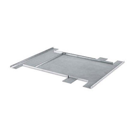 Royal Industries VOL 97299 Plated Steel Table Joiner & Extender, Adjusts From 24 To 42""