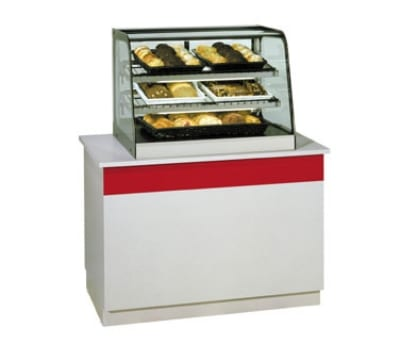 "Federal CD3628 36"" Countertop Non-Refrigerated Merchandiser w/ Sliding Glass Rear Doors"