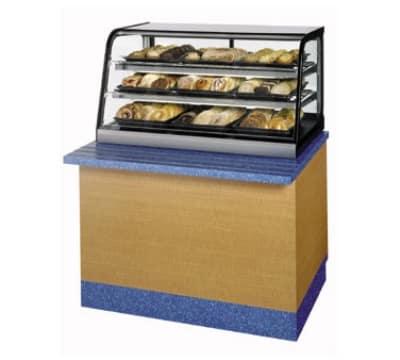 "Federal CD4828SS 48"" Counter Top Non-Refrigerated Self-Serve Merchandiser w/ Lift Up Doors"