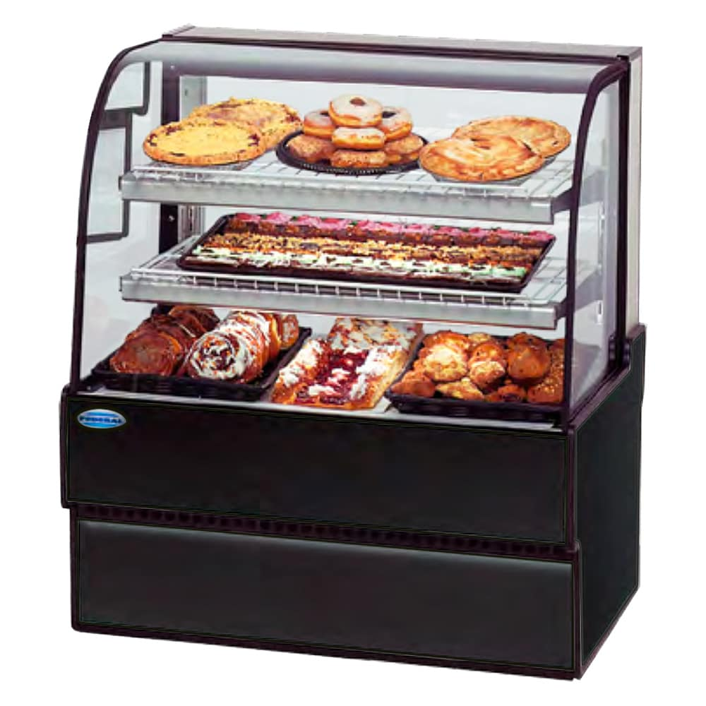 "Federal CGD3148 31"" Full Service Bakery Case w/ Curved Glass - (4) Levels, 120v"