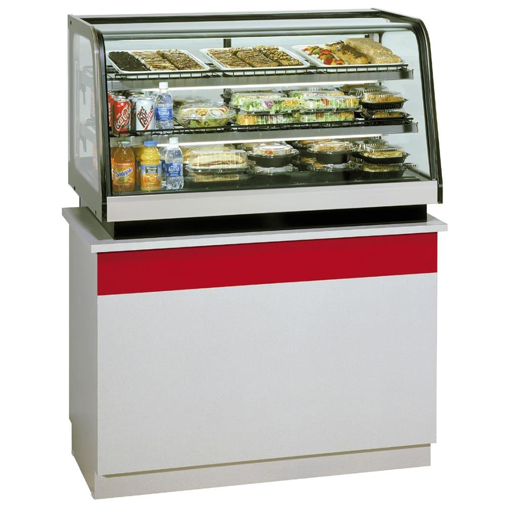 "Federal CRB3628 36"" Countertop Refrigerator w/ Rear Access - Sliding Door, Black, 120v"
