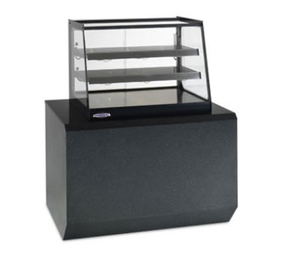 "Federal EH-2428 24"" Full-Service Countertop Heated Display Case w/ Straight Glass - (3) Levels, 120v"