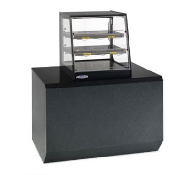 "Federal EH-2428SSD 24"" Self-Service Countertop Heated Display Case w/ Straight Glass - (3) Levels, 120v"