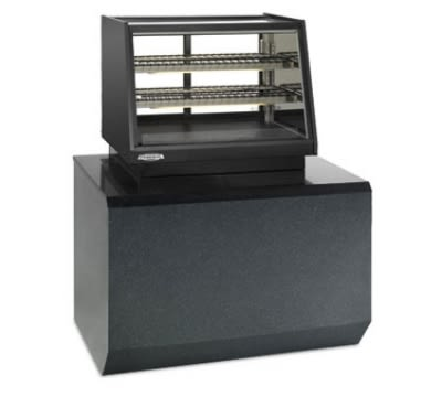 "Federal ERR-4828 48"" Countertop Refrigerator w/ Rear Access - Sliding Door, Black, 120v"