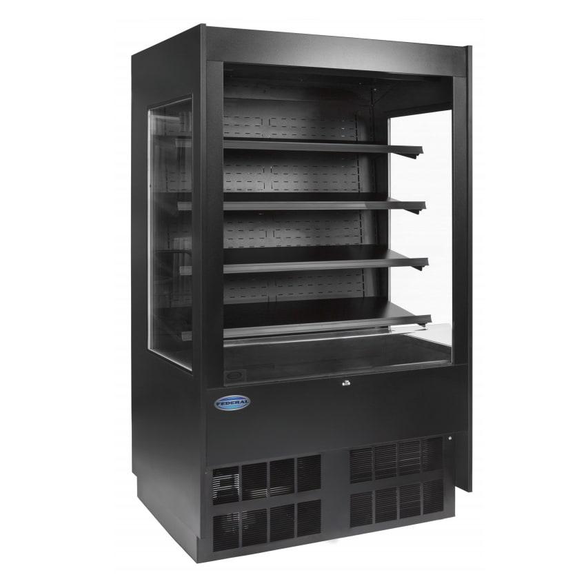"""Federal ERSSHP378SC-5 37"""" Vertical Open Air Cooler w/ (5) Levels, 120/208-240v/1ph"""