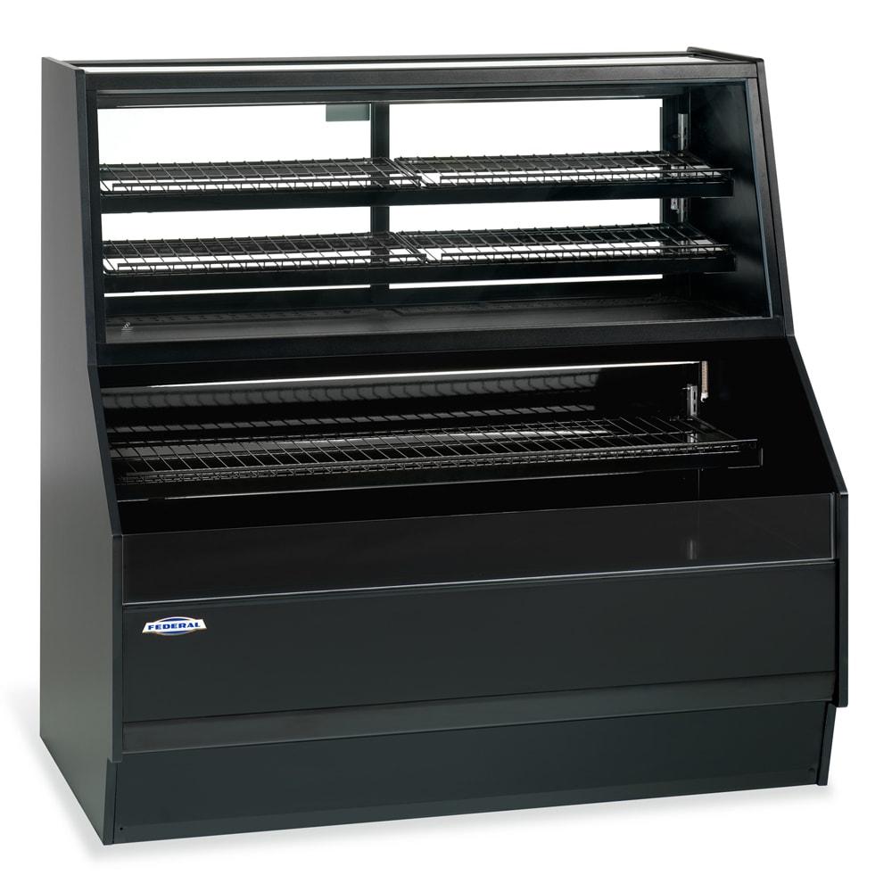 "Federal ESSRC-5052 50"" Horizontal Open Air Cooler w/ (5) Levels, Black, 230v/1ph"