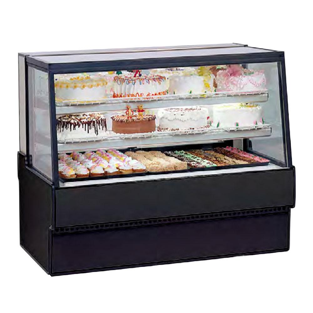 "Federal SGR3142 31"" Full Service Bakery Case w/ Straight Glass - (3) Levels, 120v"