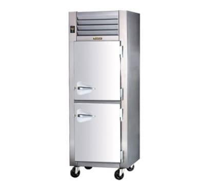 Traulsen AHF132W-HHG 208 1-Section Reach-In Heated Cabinet w/ Half Glass Door, 208/115/1 V