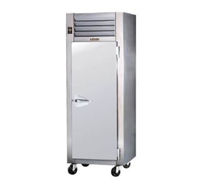 Traulsen AHF132WP-FHS Full Height Insulated Mobile Heated Cabinet w/ (3) Shelves, 208v/1ph