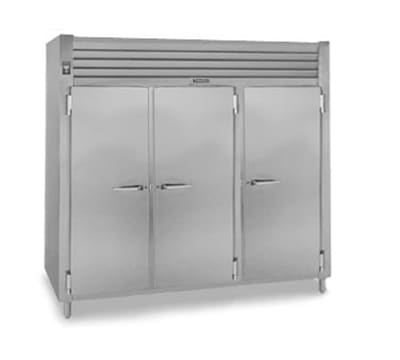 Traulsen AHF332WP-FHG Full Height Insulated Mobile Heated Cabinet w/ (9) Shelves, 208v/1ph